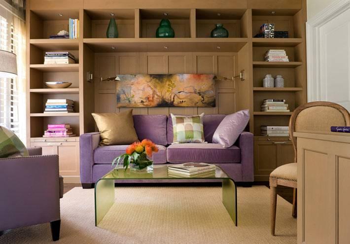 рациональное использование пространства в гостиной комнате