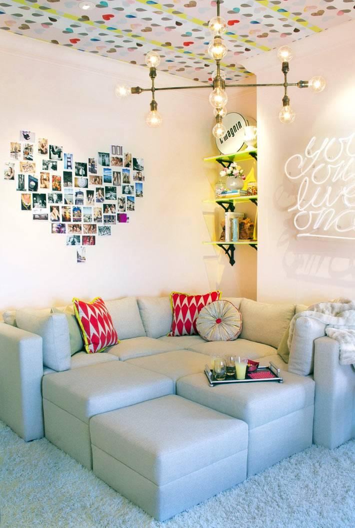 идеи дизайна подростковой комнаты фото