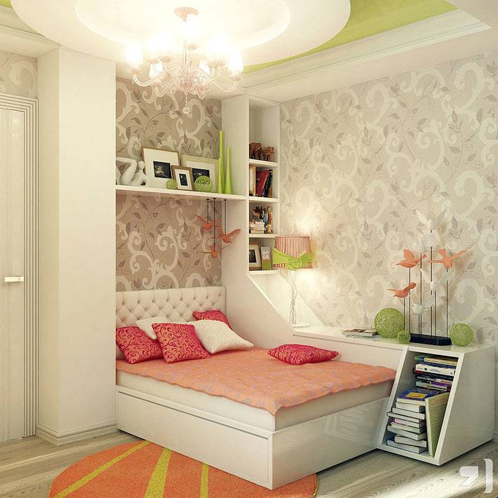 красивая подростковая комната для девушки