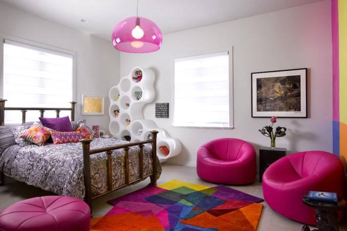 ультра-современный интерьер комнаты подростка
