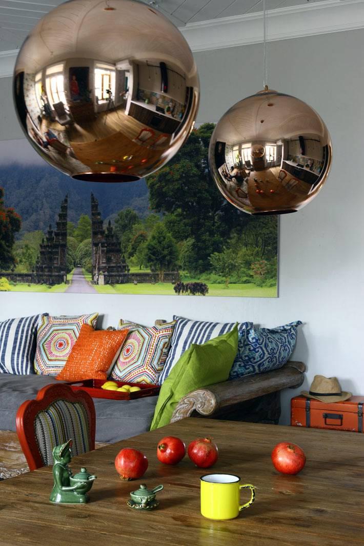Креативный дизайн интерьера квартиры на Цветном бульваре фото