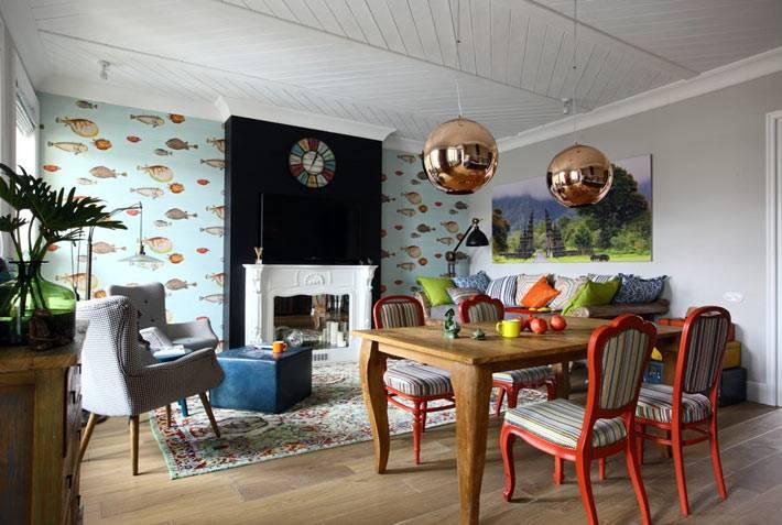 неординарные идеи для оформления интерьера квартиры