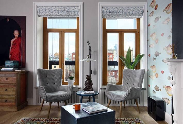 работа дизайнеров в интерьере московской квартиры