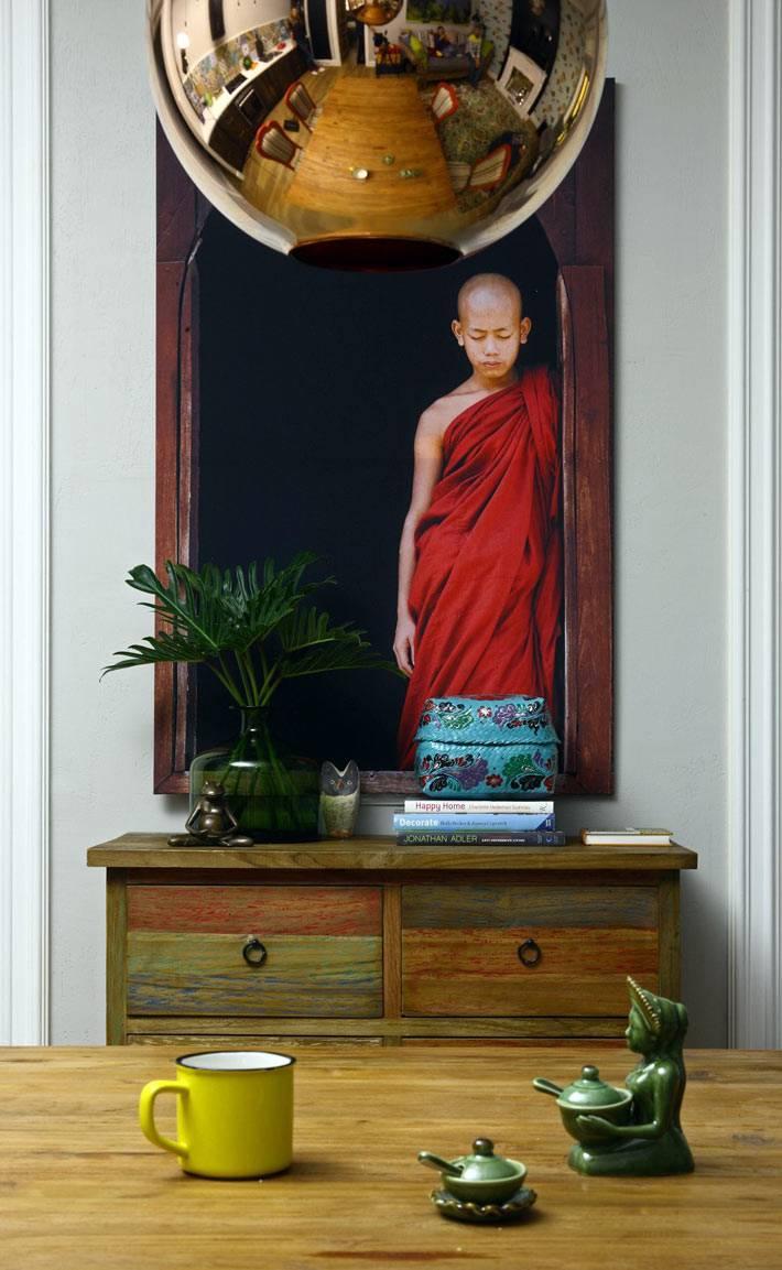 балийские мотивы в дизайне московской квартиры