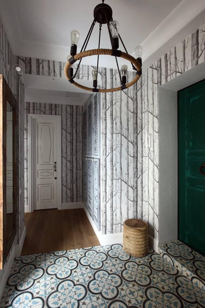 креативный дизайн интерьера московской квартиры