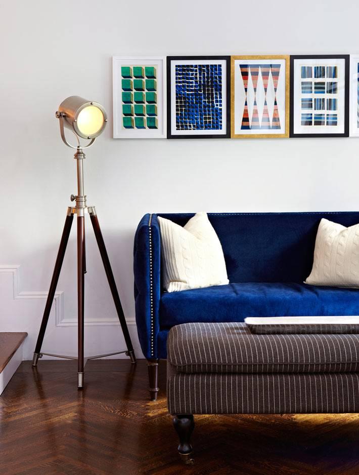 Элегантный интерьер от студии дизайна Chango&Co фото