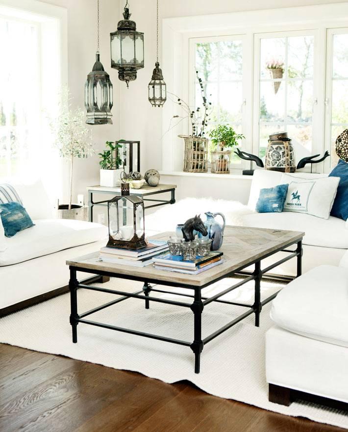 белый цвет в оформлении интерьера дома