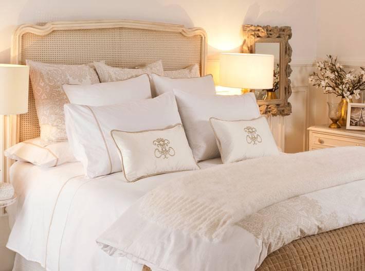 красивое постельное белье для изысканной спальни