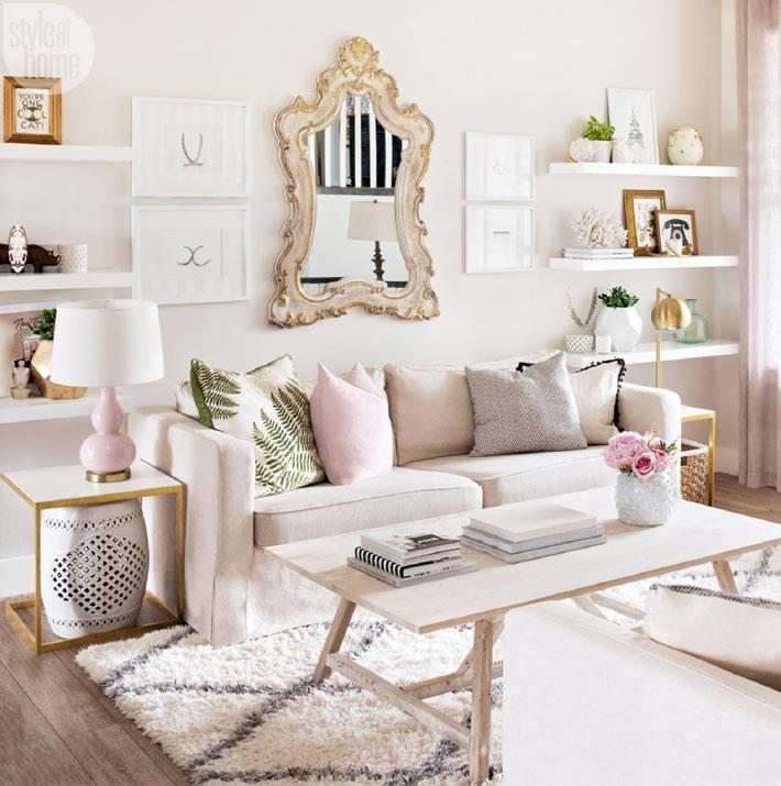 пастельные тона в дизайне интерьера дома фото