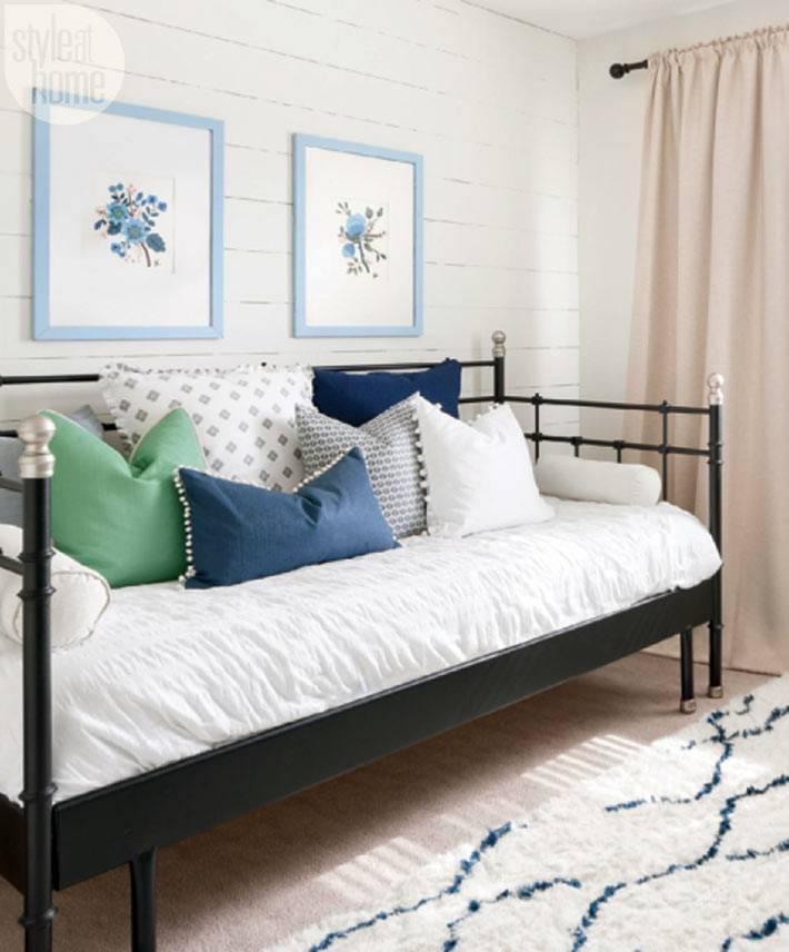 белый цвет в дизайне интерьера дома в канаде