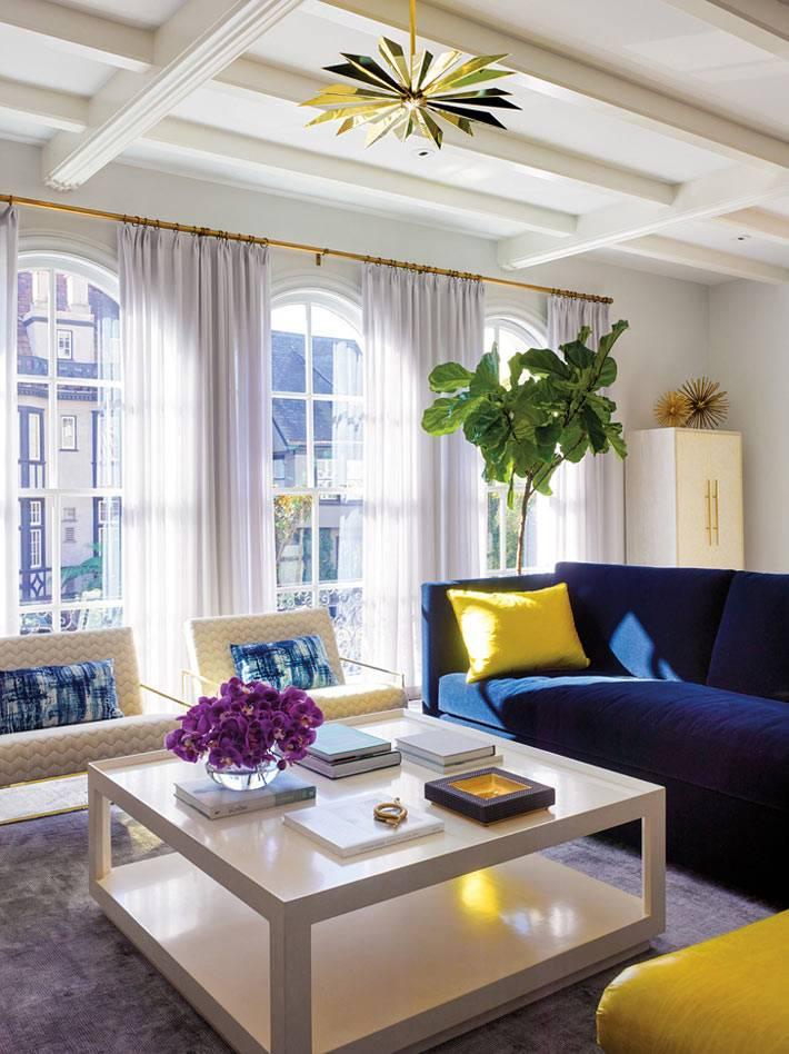 Красивый интерьер дома в Сан-Франциско от дизайнера Palmer Weiss