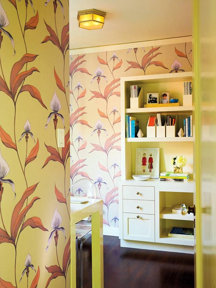 лимонный и желтый цвет в интерьере детской комнаты