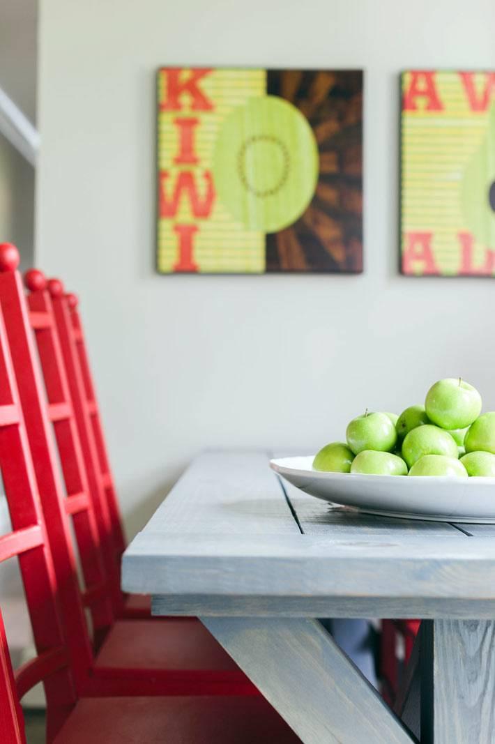 интерьер кухни от дизайнера Emily Lister фото