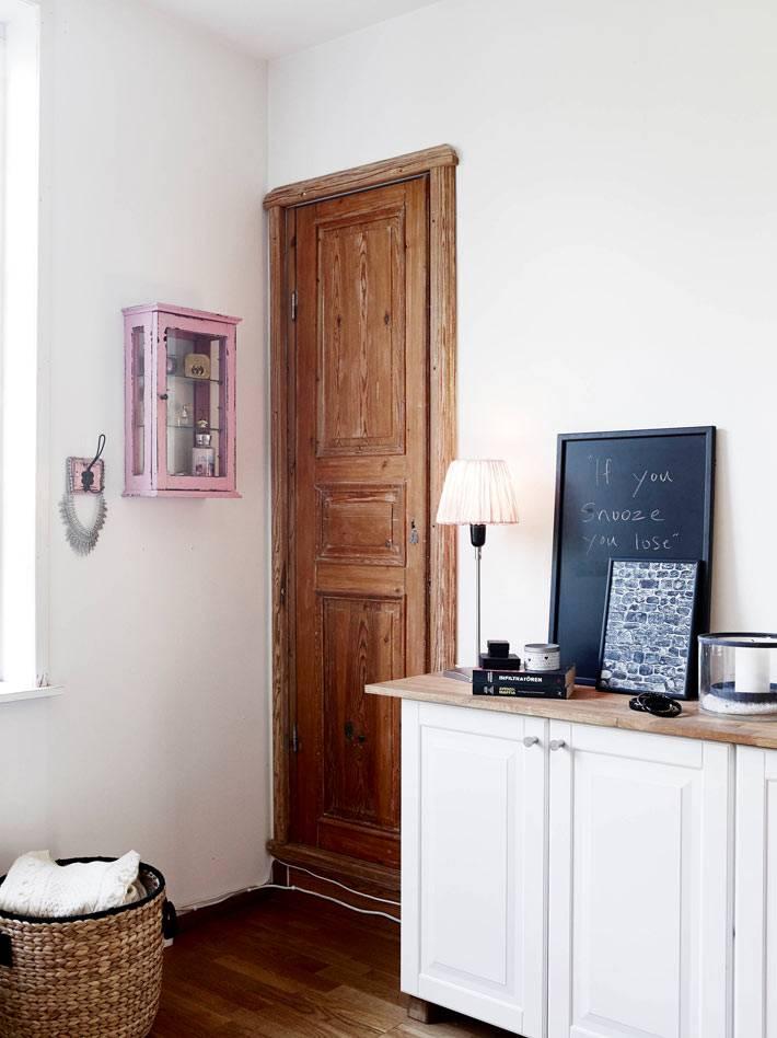 натуральные материалы в скандинавском дизайне спальне