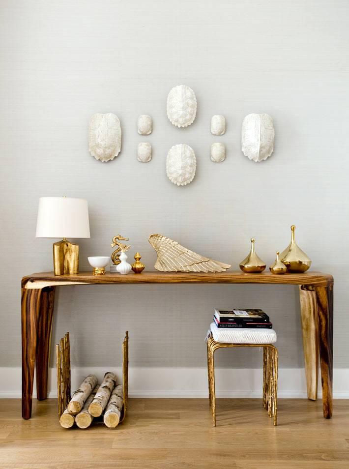 элементы морского декора спальни белого цвета