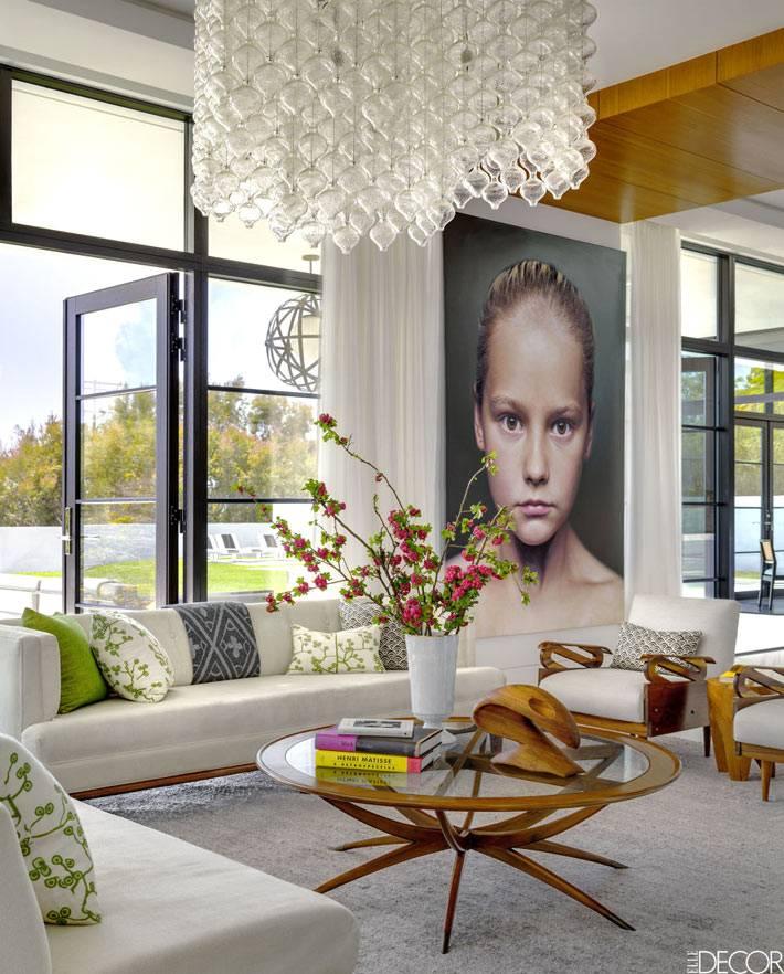 Красивый интерьер дома дизайнеров в Калифорнии фото 01