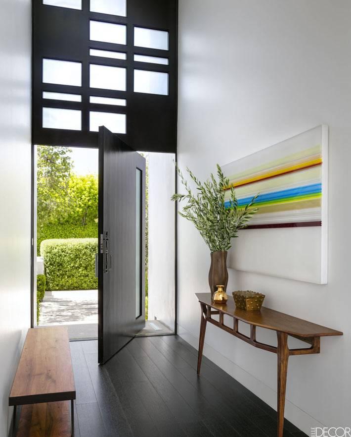 красивый современный дизайн дома в Калифорнии