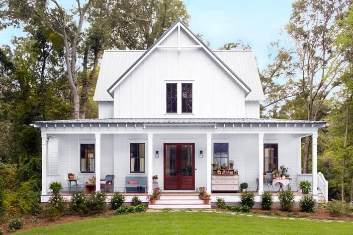 красивый загородный дом в Джорджии, сша