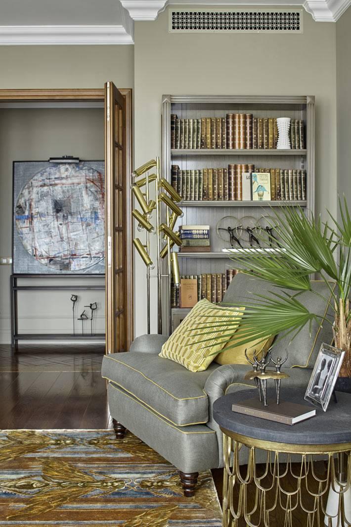 Классический дизайн квартиры от студии Предмет фото