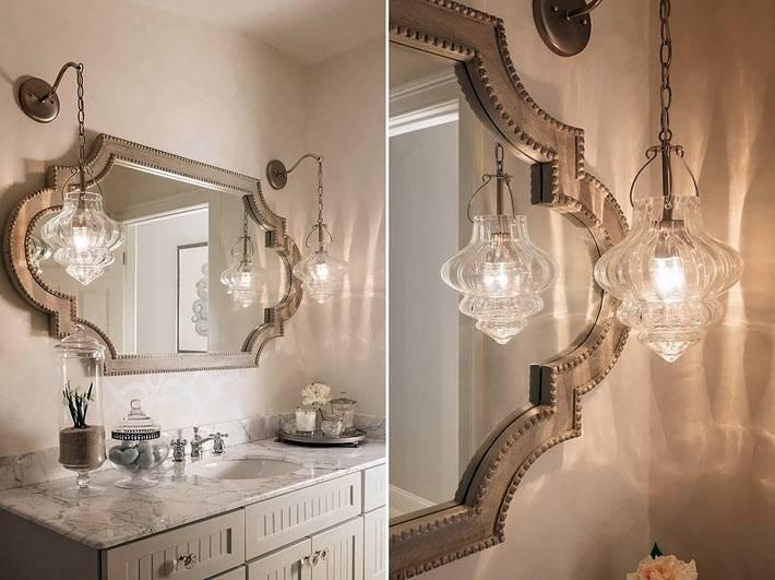 бледный бежевый цвет в интерьере ванной комнаты