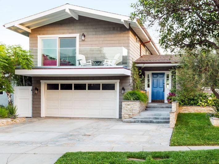 красивый и уютный дом в Калифорнии фото