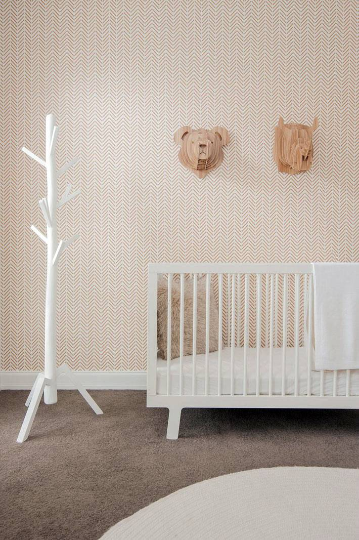 бледные оттенки для интерьера комнаты для младенцев