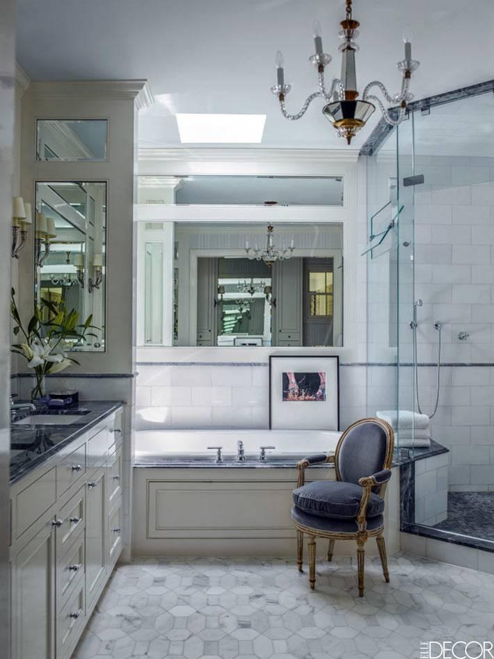 викторианский дизайн интерьера ванной комнаты