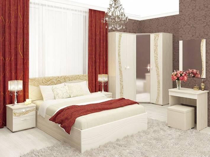 современная мебель для спальни от DaVita