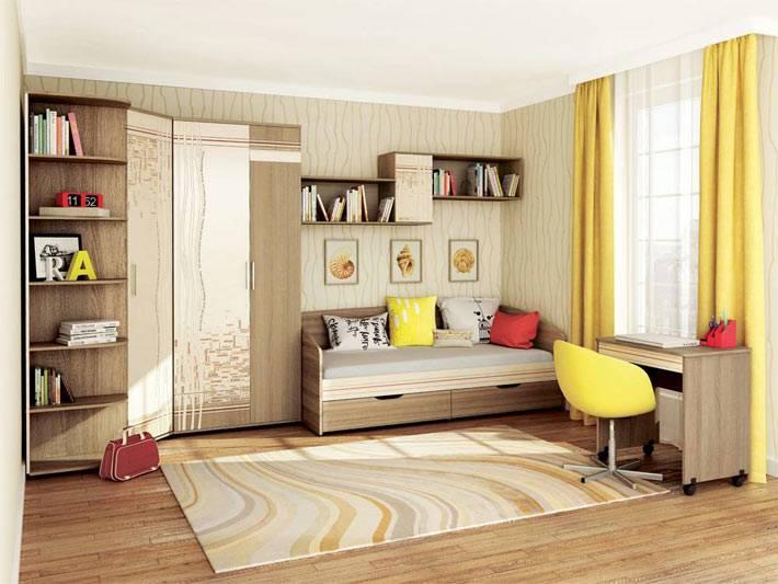 качественная мебель для детских комнат производства DaVita