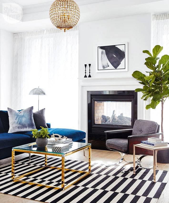 красивый дизайн интерьера дома в богемном стиле