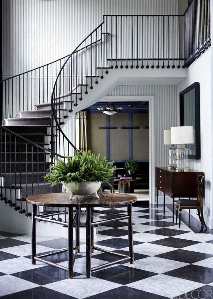 Дизайн интерьера дома в Нью-Джерси работы Nannette Brown фото