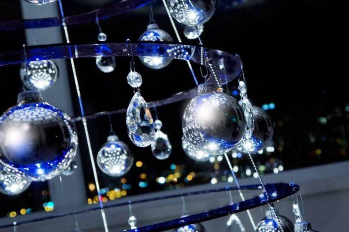 рождественская елка конусообразной формы из акрила