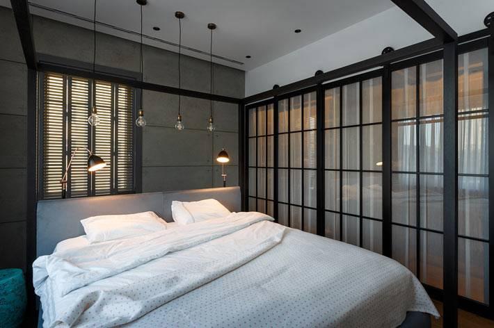 серый цвет и трендовые решения в дизайне спальни