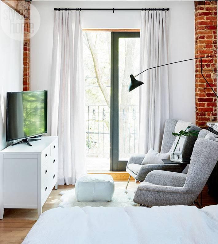 Удобные кресла в интерьере для просмотра телевизора фото