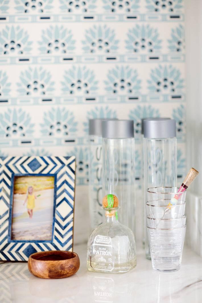 стеклянные принадлежности для хранения на кухне