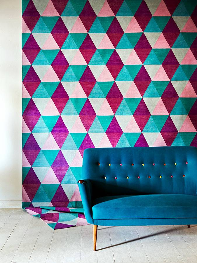 многообразие цветов и форм текстиля Fenton&Fenton фото