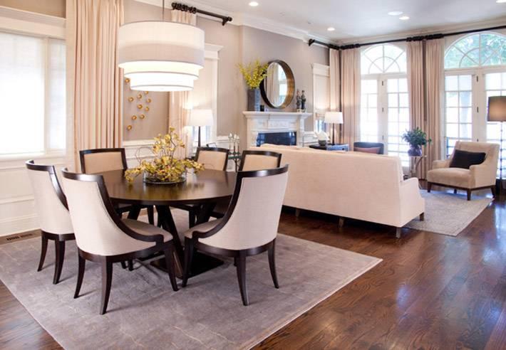 светлый кремовый ковер для гостиной комнаты
