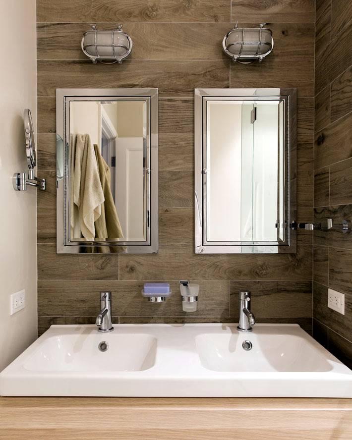 Двойные раковины для ванной фото
