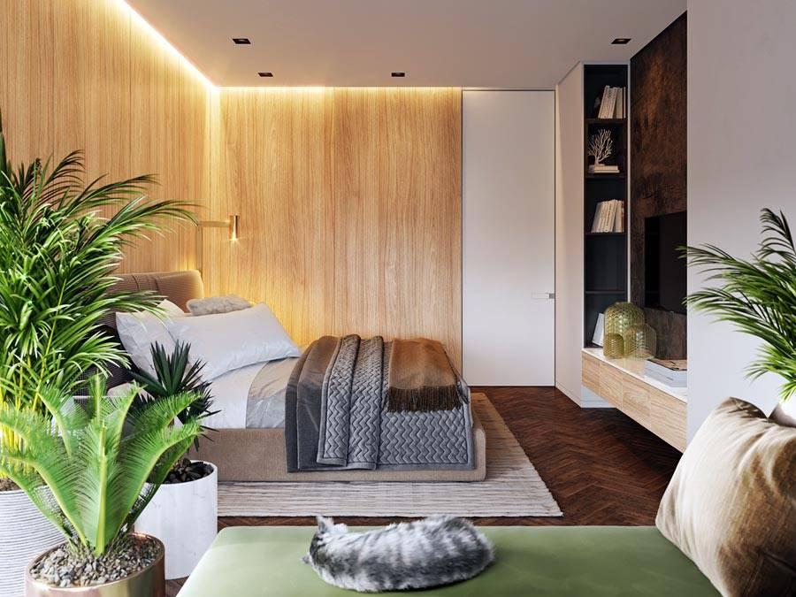 подсветка по периметру потолка в спальне фото