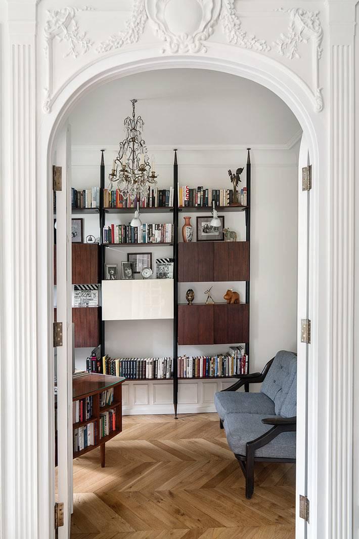 французский стиль в дизайне рабочего кабинета фото