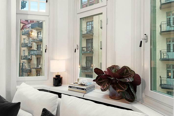 маленькая однокомнатная квартира с эркером фото