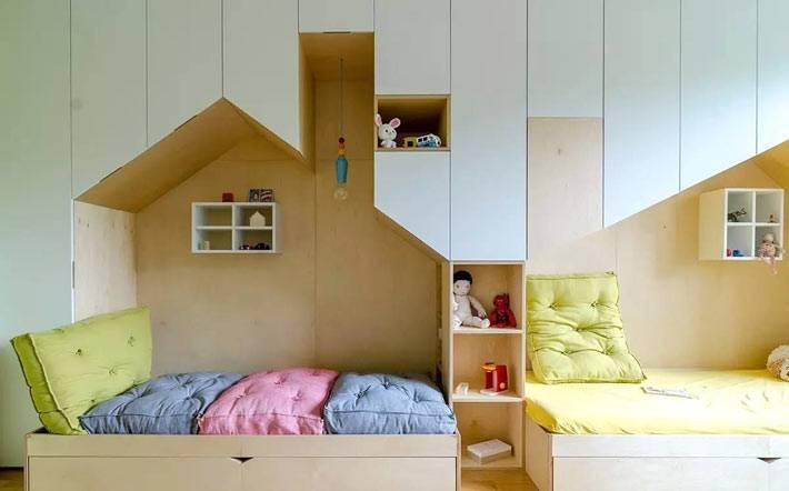 детская комната призвана развивать детскую фантазию