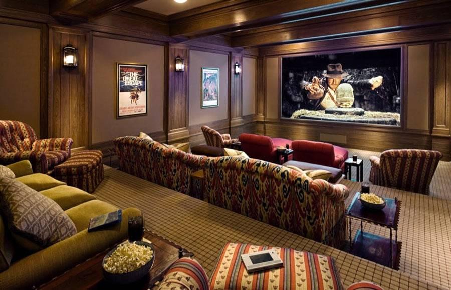 проектирование домашнего кинотеатра в отдельной комнате