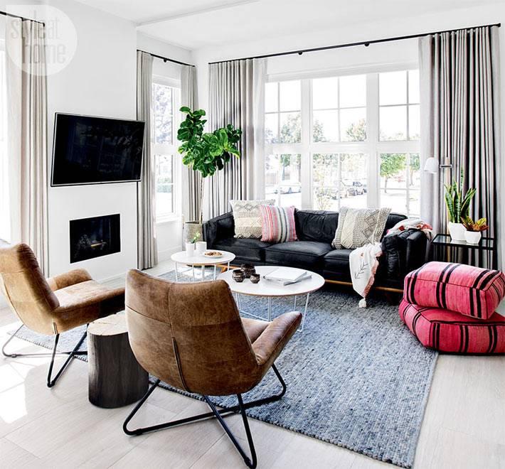 дизайн интерьера дома в стиле кейп-код фото
