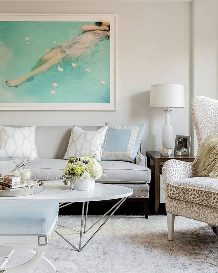 красивый дизайн интерьера дома для девушки в Бостоне