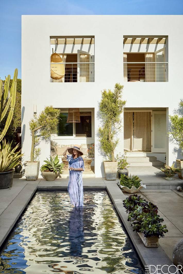 дом с бассейном в Санта-Монике, актрисы Million Dollar Decorators