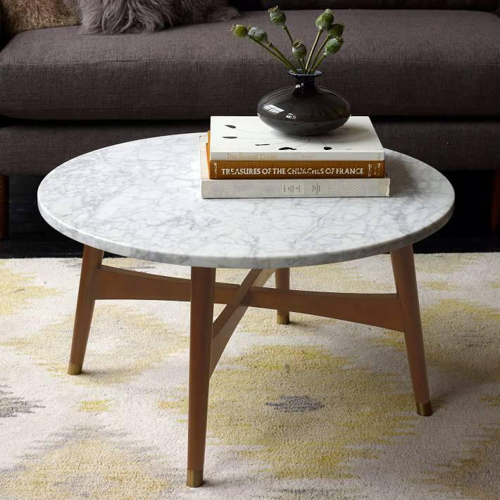 просто и со вкусом - маленький круглый стол
