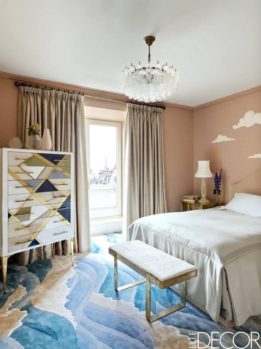 приглушенный розовый цвет для спальни ребенка фото