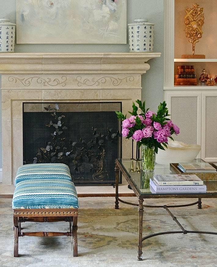 винтажная мебель в работах дизайнера интерьеров Лесли Дженкинс