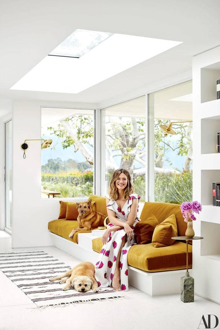 эклектичный дизайн дома известной актрисы Менди Мур